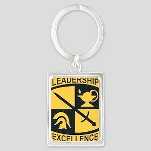 Army - SSI - ROTC Portrait Keychain