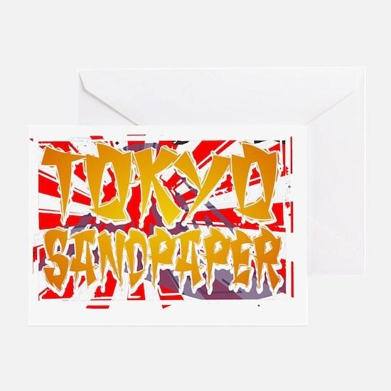 TOKYO SANDPAPER Greeting Card