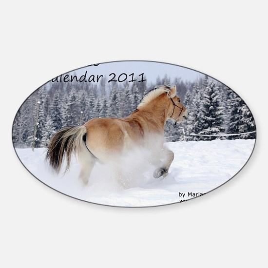 kansi_2011 Sticker (Oval)