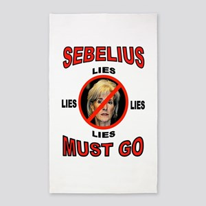 SEBELIUS 3'x5' Area Rug