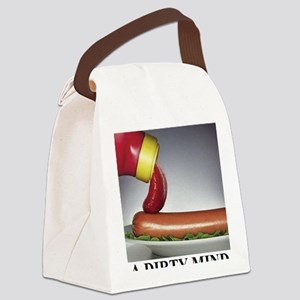 A DIRTY MIND1 Canvas Lunch Bag
