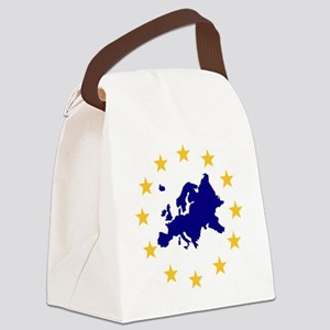 europe_stars Canvas Lunch Bag