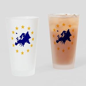 europe_stars Drinking Glass