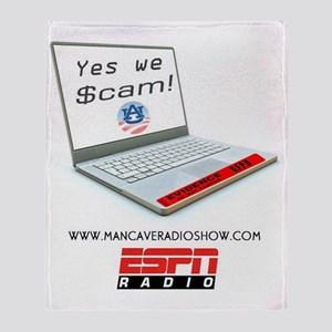 Yes_we_Scame_Logo-3 Throw Blanket