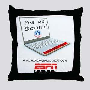 Yes_we_Scame_Logo-3 Throw Pillow
