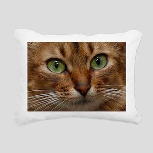 Somali face Rectangular Canvas Pillow