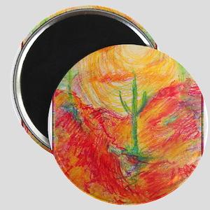 Southwest desert art! Magnets