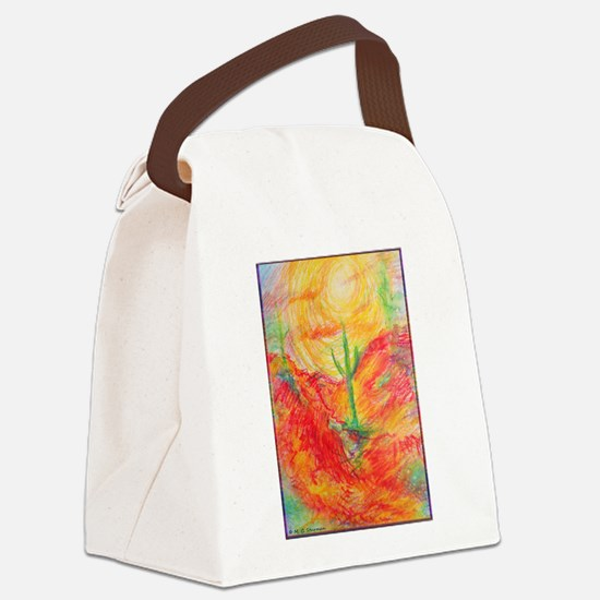 Southwest desert art! Canvas Lunch Bag