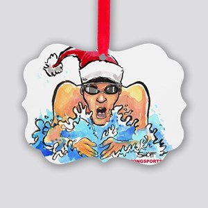 BarBrstBoyXmas Picture Ornament