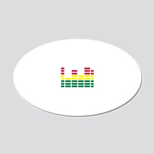 equalizer_2010 20x12 Oval Wall Decal