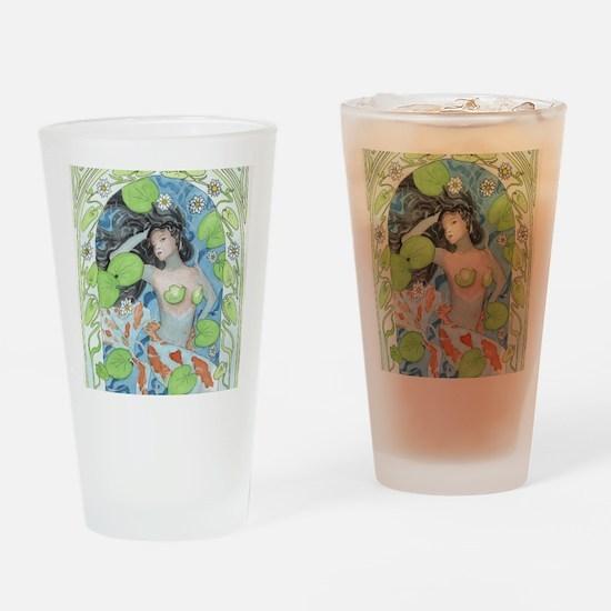 Dark Undercurrent Drinking Glass