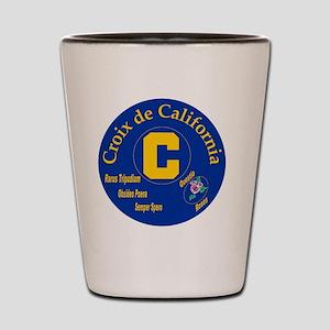 Croix de California Shot Glass