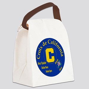 Croix de California Canvas Lunch Bag