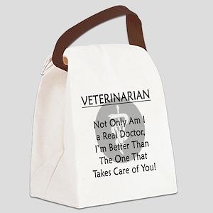vetrealdoctor Canvas Lunch Bag