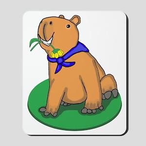 Capybara Love Mousepad