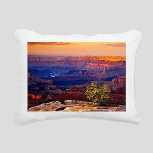 Grand Canyon Sunset Rectangular Canvas Pillow