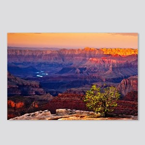 Grand Canyon Sunset Postcards (Package of 8)