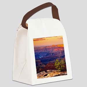 Grand Canyon Sunset Canvas Lunch Bag