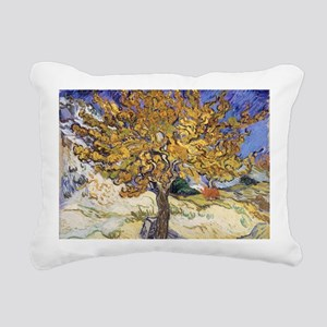 Mulberry Tree, 1889 by V Rectangular Canvas Pillow