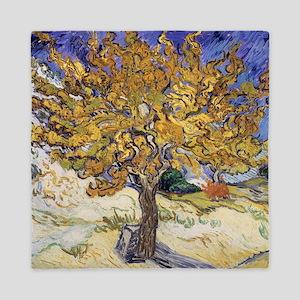 Mulberry Tree, 1889 by Vincent Van Gog Queen Duvet