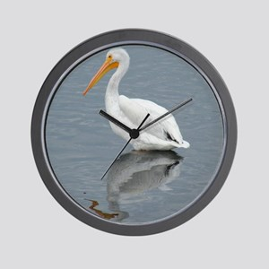 The Pelican King 1 Wall Clock