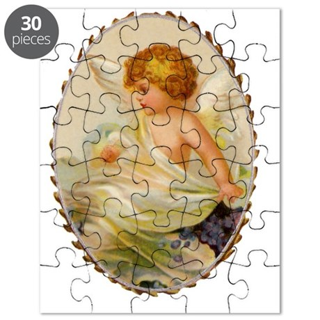 Baby Angel Ornament. Puzzle