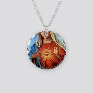 ABSTINENCE1 Necklace Circle Charm