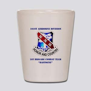 101 AB DIV-1BDE CT WITH TEXT Shot Glass