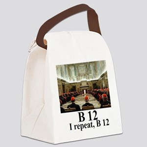 B 121 Canvas Lunch Bag