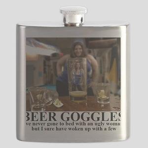 BEER GOGLES1 Flask