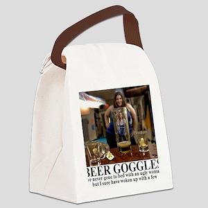 BEER GOGLES1 Canvas Lunch Bag