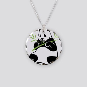 Panda with Bamboo Necklace