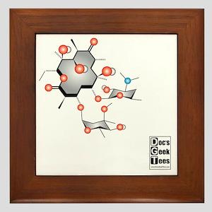 Erythromycin value Framed Tile