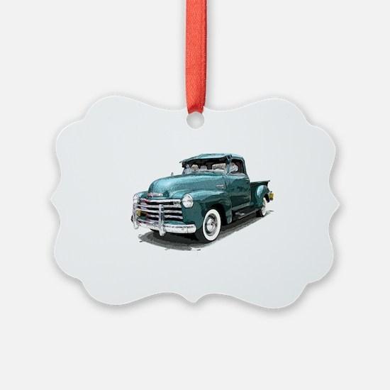 GreenPickUpDrawn Ornament