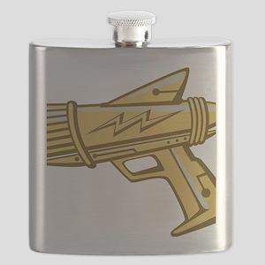 ray_gun_gold Flask