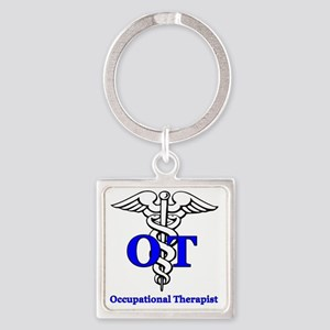 OT1 Square Keychain