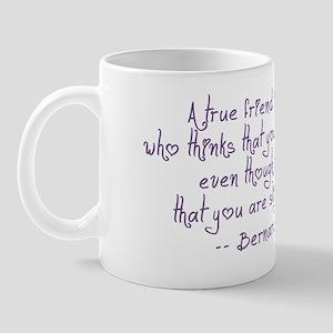 Friend Quote Mug