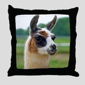 llama2_btn Throw Pillow