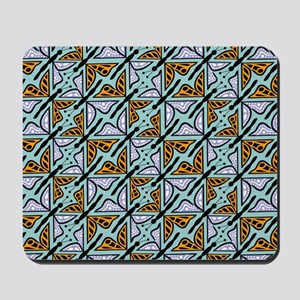 Repeating Butterflies Mousepad