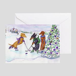 hockeymagnet Greeting Card