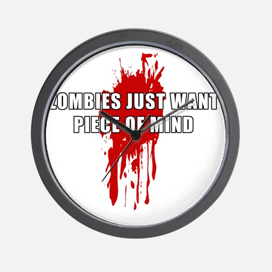 ZombiesMind Wall Clock
