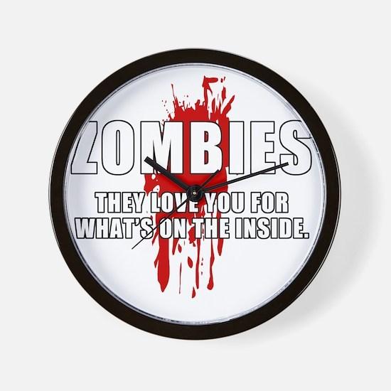 ZombiesLove Wall Clock