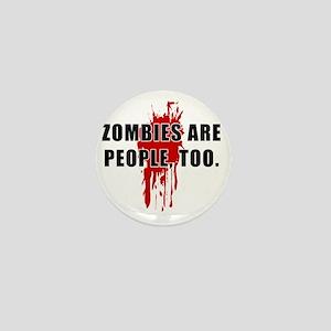 ZombiesPeople Mini Button