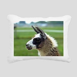 llama3_lp Rectangular Canvas Pillow