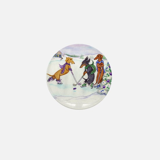 hockeysq Mini Button