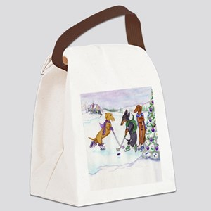 hockeysq Canvas Lunch Bag