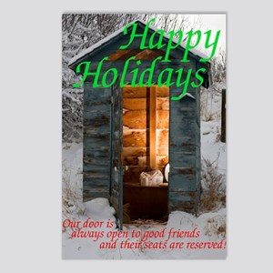holiday card Postcards (Package of 8)
