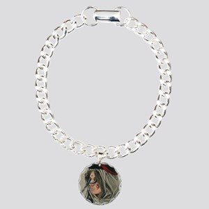 Tether Slave Charm Bracelet, One Charm