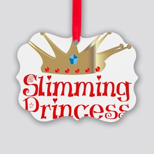 Slimming Princess2 tr1 red Picture Ornament