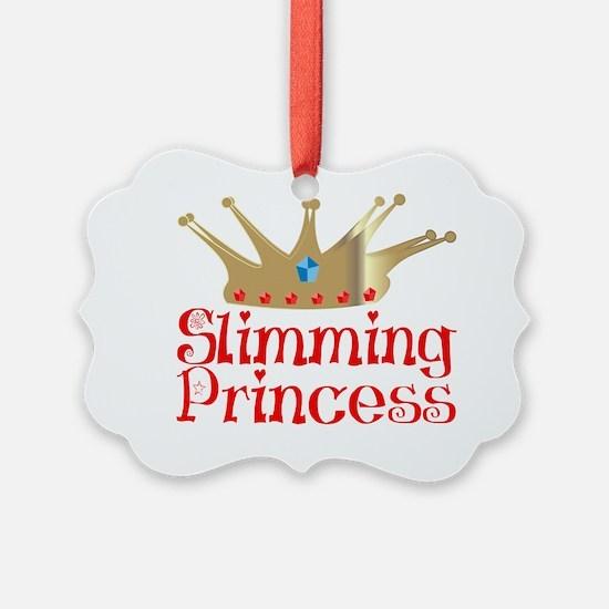 Slimming Princess2 tr1 red Ornament
